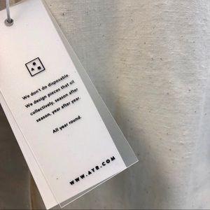 AYR Tops - AYR The Natural Clean Shirt Dessert Sand S